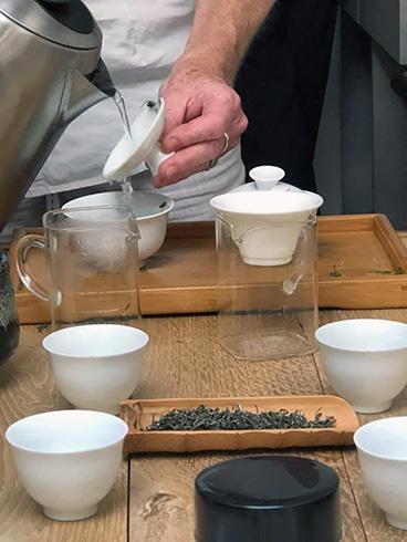 TEA EXPERT, ATELIER, FORMATION, TEA TASTING, TEASANE, L'EMPIRE DU THÉ, Katrin Rougeventre, thé, tea tasting, atelier, tea sommelier, formation, THÉIER